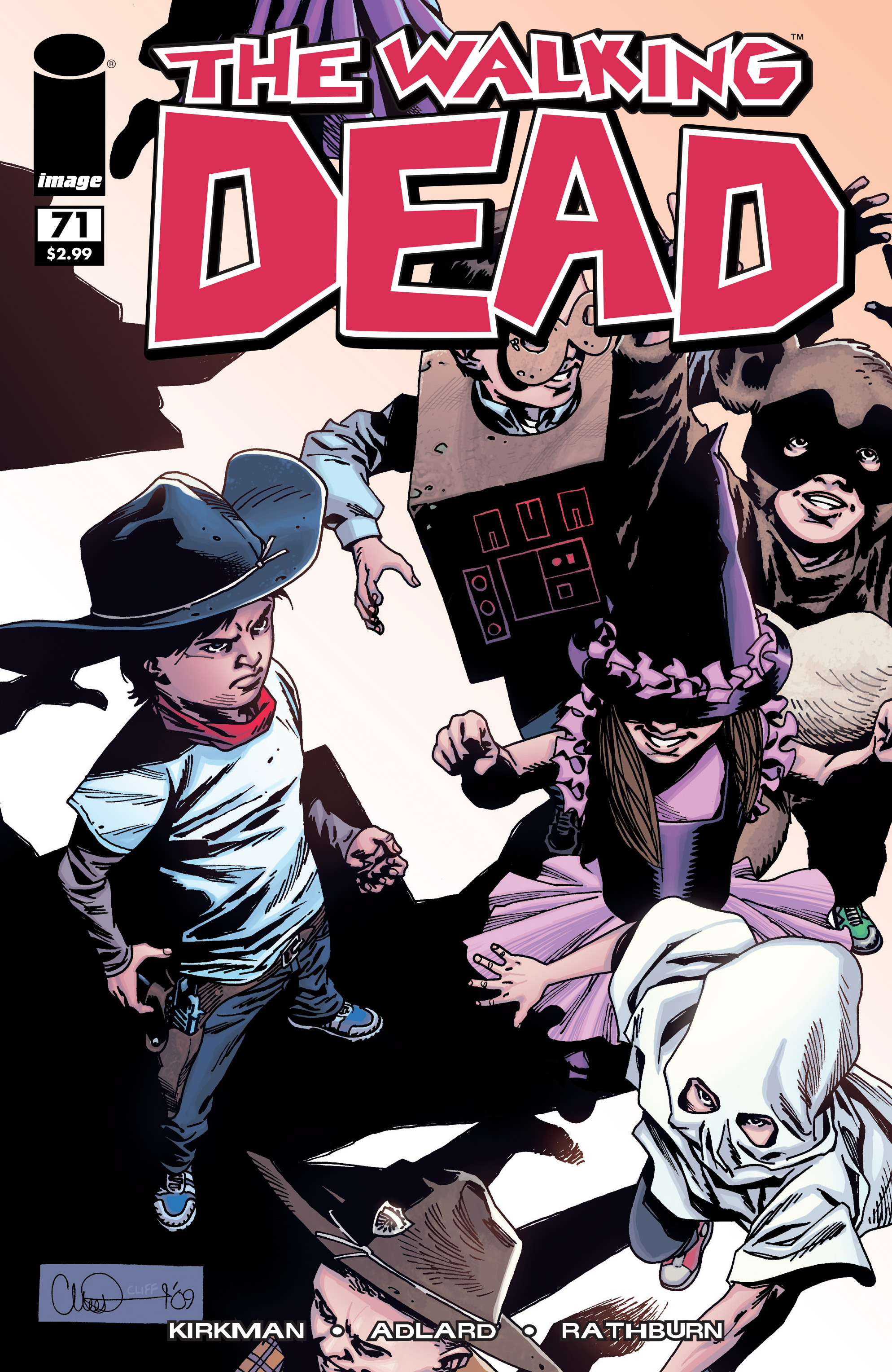 The Walking Dead 71 Page 1