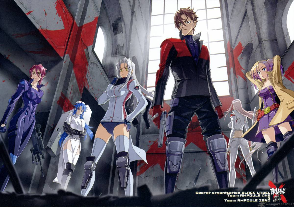 Anime Action Terbaik Triage X