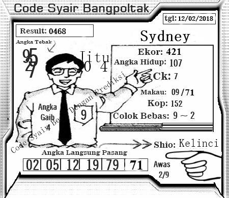 Kode Syair Shamyoun Terbaik Hari Senin