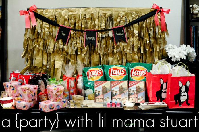 A With Lil Mama Stuart 30th Birthdayfavorite Things Party