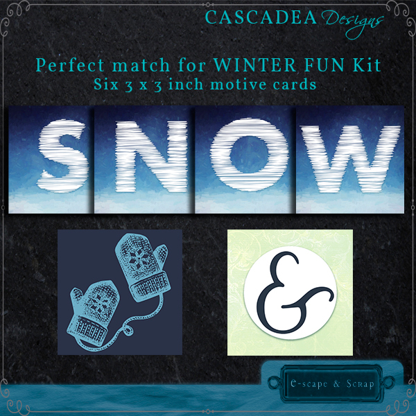 Cascadea Designs: Winter Fun FREEbie Cards