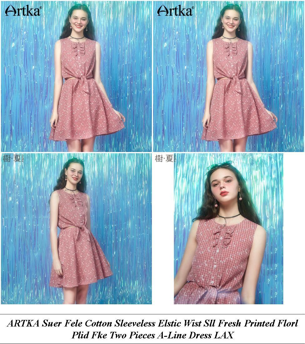 Beach Dresses - Winter Clearance Sale - Off The Shoulder Dress - Cheap Womens Summer Clothes