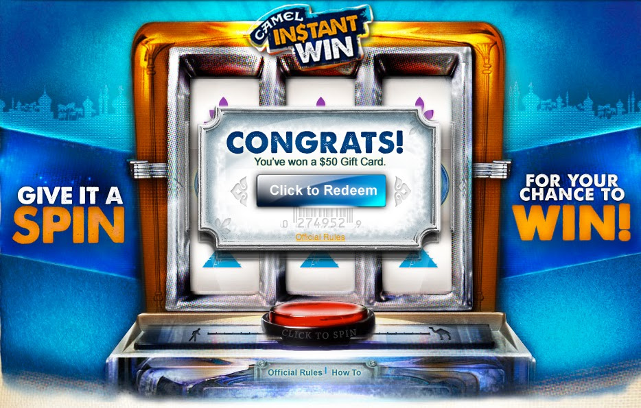 spin to win instant win