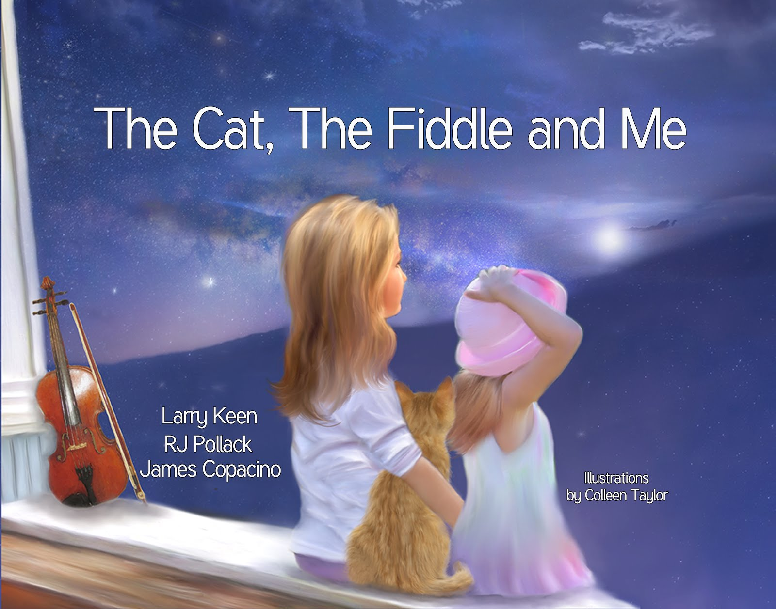 THE CAT, THE FIDDLE AND ME - BUY NOW