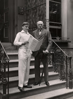 Yehudi Menuhin and Edward Elgar at Abbey Road Studios - Copyright: Warner Classics Archives