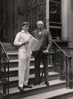 Yehudi Menuhin and Edward Elgar at Abbey Road Studios - Copyright: Warner Classics Archives