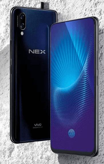 Vivo NEX terbaru dengan On Screen Fingerprint dan Layar dengan Rasio Tinggi