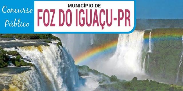 Concurso da Prefeitura de Foz do Iguaçu 2018-2019 {APOSTILAS}