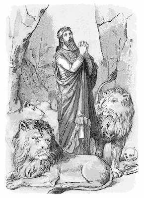 Image of Daniel in the Lion's Den