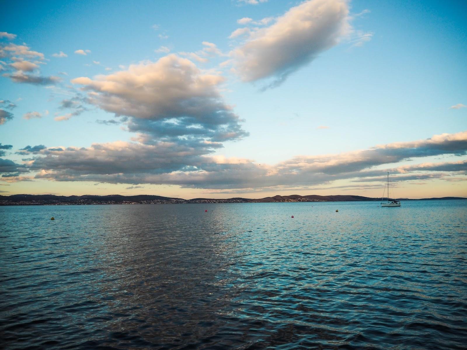 Hobart harbourside, Tasmania