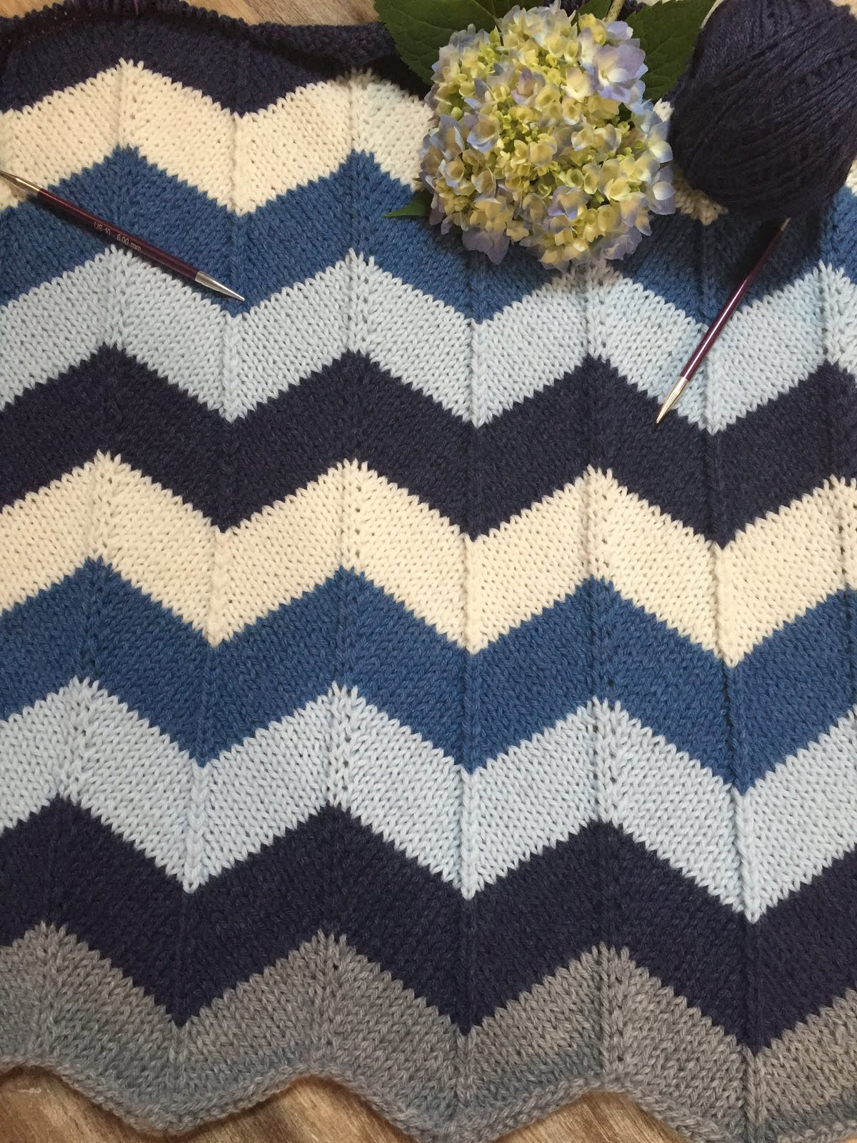 Chevron Baby Blanket I Started This Blanket On June 6Th