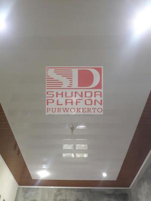 Pemasangan Plafon Pvc Shunda di Rumah Bapak Suparman - Shunda Plafon Purwokerto