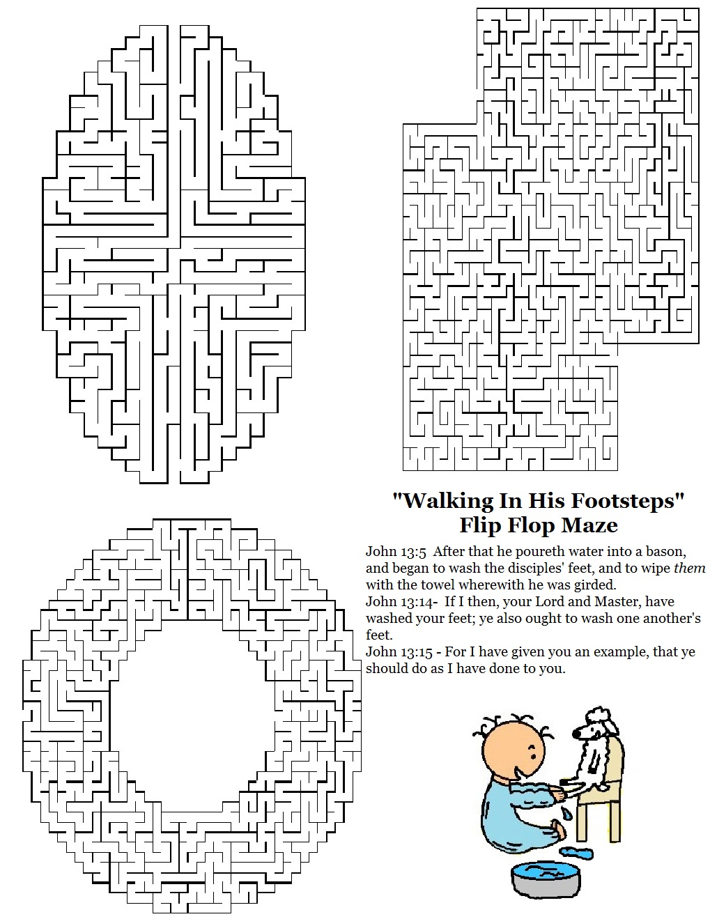 Church House Collection Blog: Flip Flop Sunday School Lesson