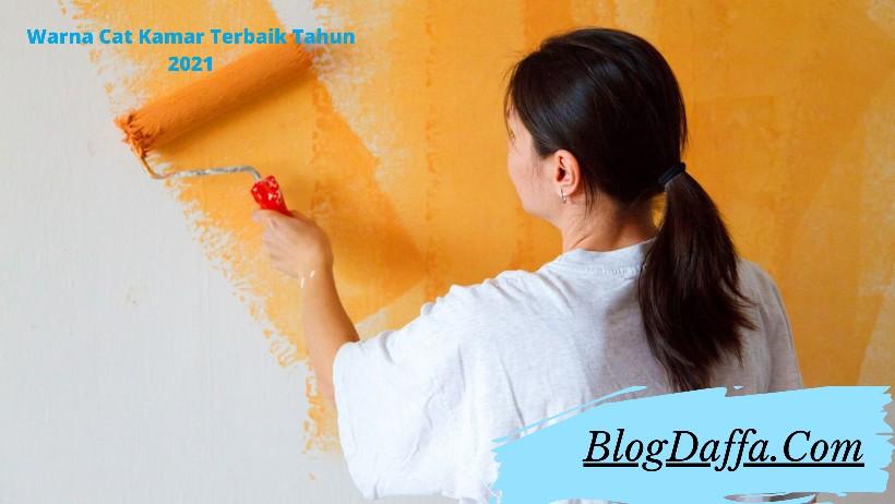 Rekomendasi warna cat kamar terbaik tahun 2021