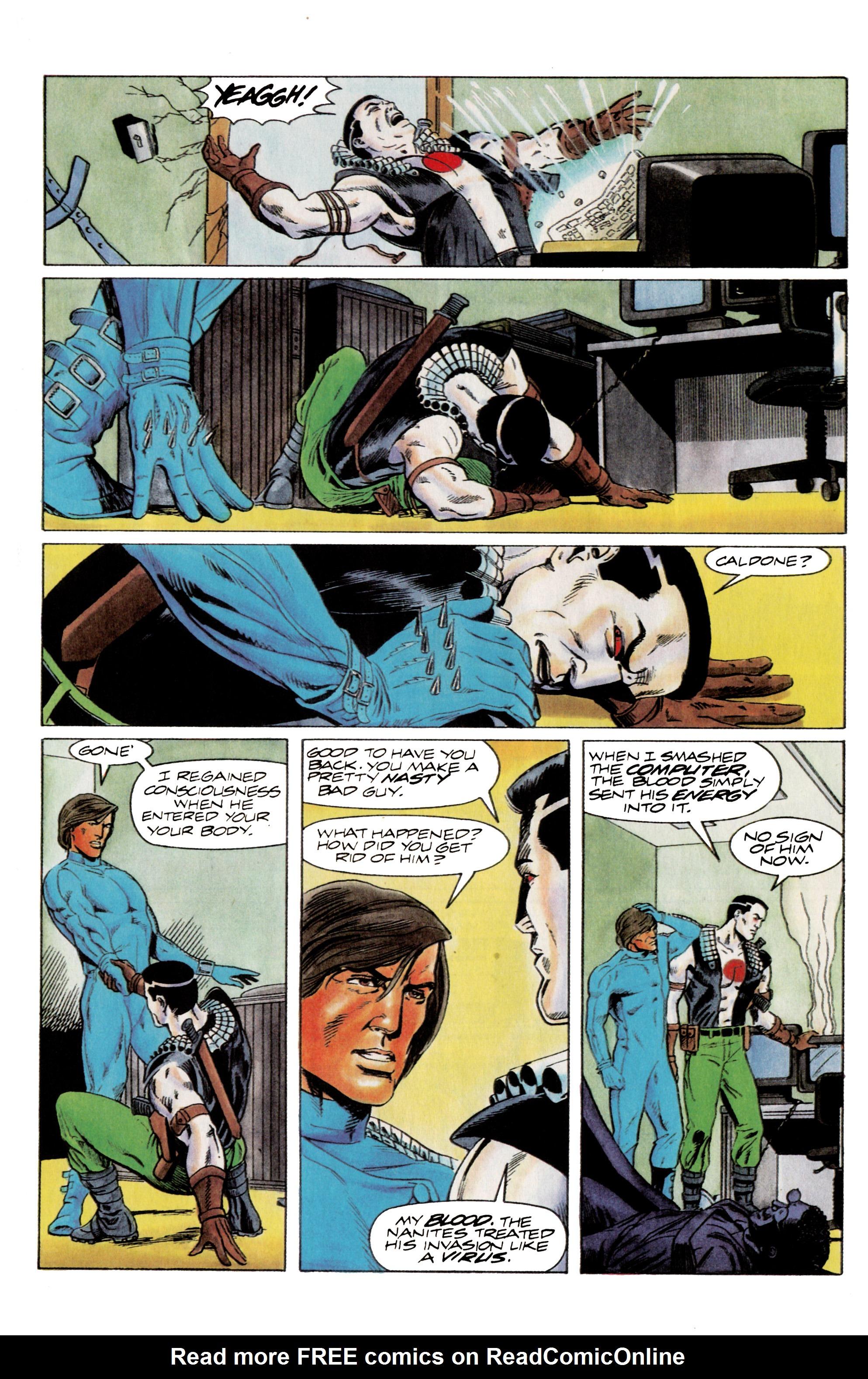 Read online Eternal Warrior (1992) comic -  Issue #14 - 21