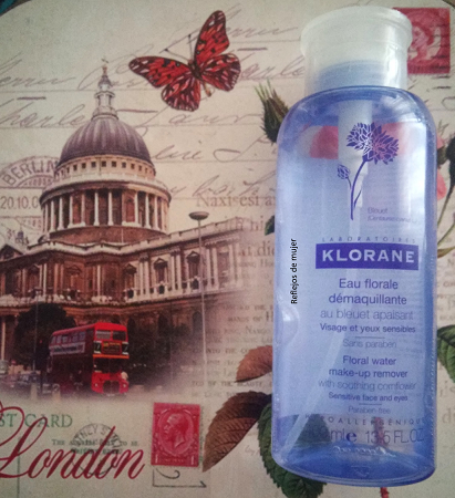 Agua micelar de Klorane
