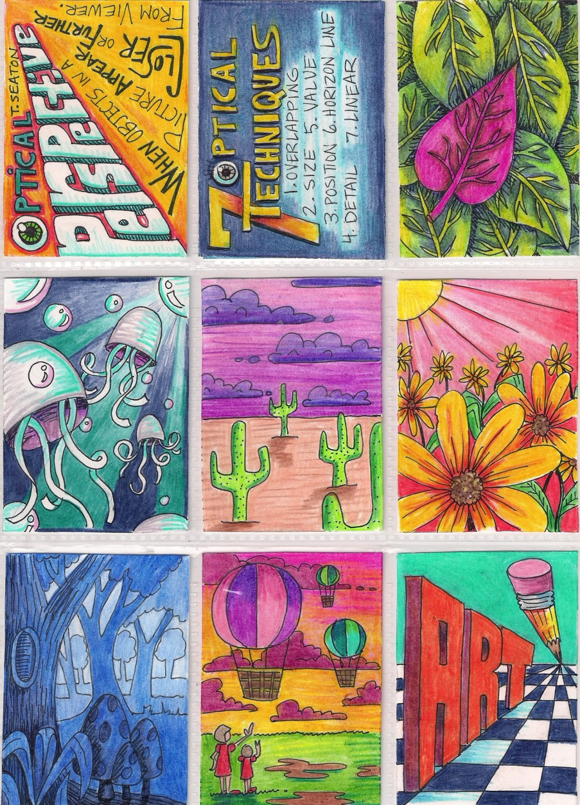 The Lost Sock Visual Perspective Atc Art Trading Cards