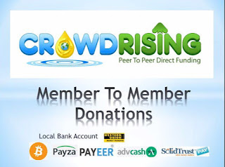 CROWDRISING: HOW TO SIGNUP/CREATE CROWDRISING ACCOUNT @WWW.CROWDRISING.NET
