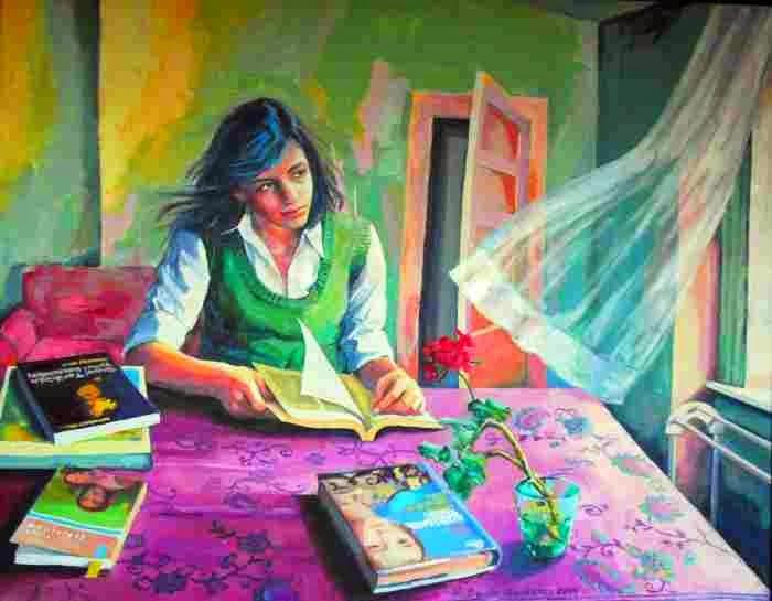 Современная турецкая художница. Deniz Korkmaz