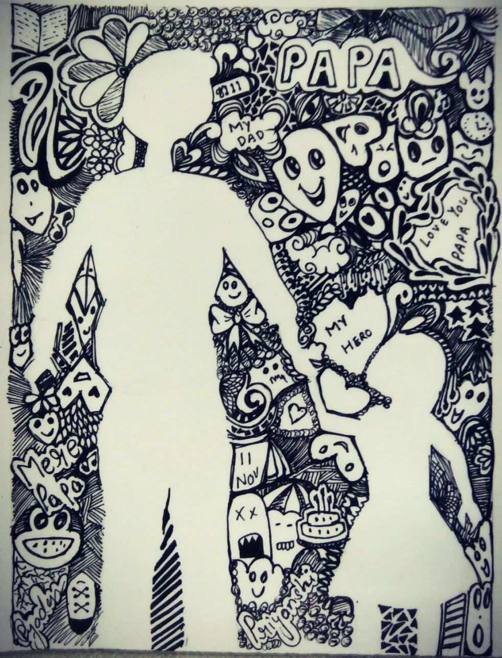 all form of drawing and painting doodle art