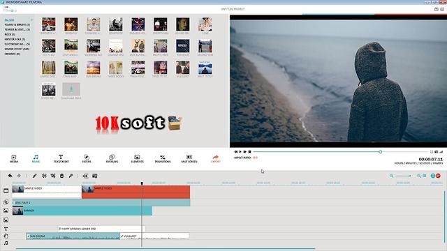 Wondershare Filmora 7 offline setup file Free Download