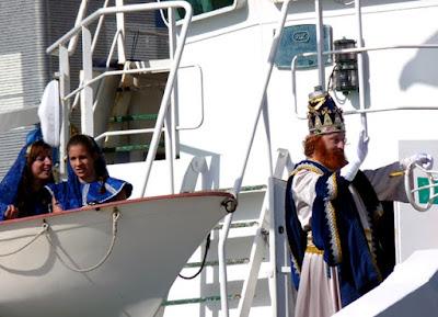 Los reyes magos recibidos por miles de niños en Las Palmas de Gran Canaria