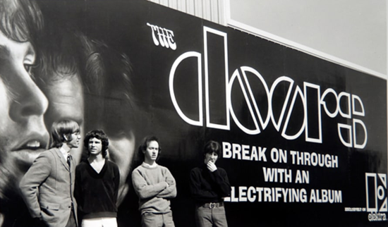 The Doors billboard, 1967