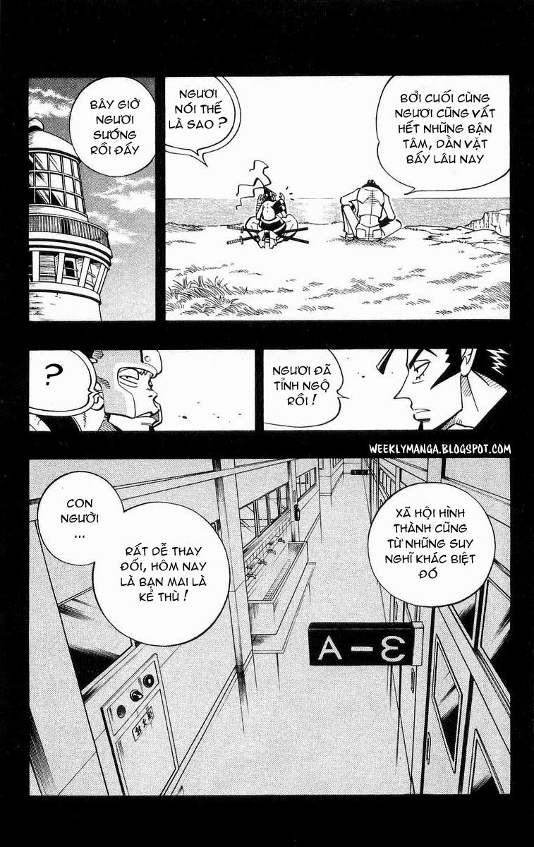 Shaman King [Vua pháp thuật] chap 102 trang 13