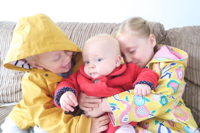Lily, Alex, Freyja