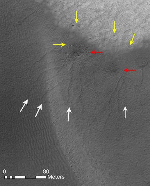 Winters on Mars are shaping the Red Planet's landscape