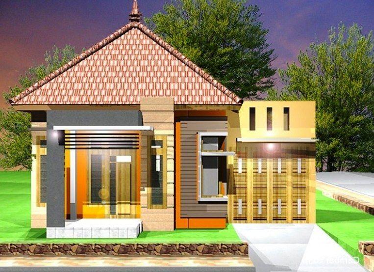 Desain Rumah Minimalis 1 Lantai Cantik Elegan