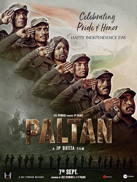 Review film Paltan (2018)