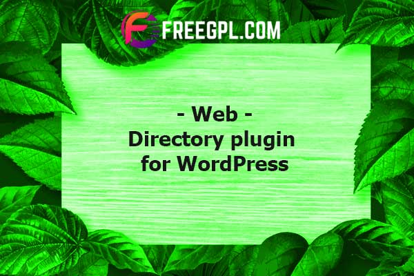 Web 2.0 Directory plugin for WordPress Nulled Download Free