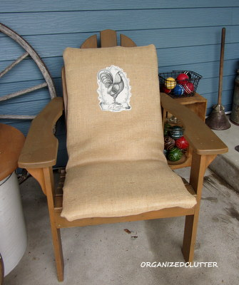 Adding Some Interest To Uninteresting Chair Cushions Organized Clutter