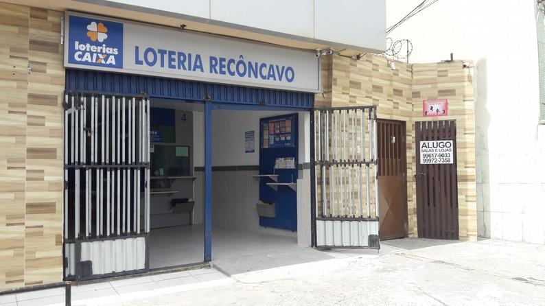 Loteria Recôncavo na Praia da Paciência