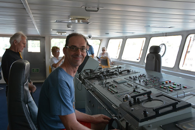 Ark Peace at the helm