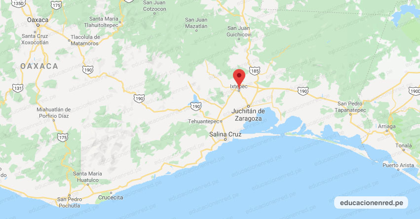 Temblor en México de Magnitud 4.0 (Hoy Viernes 24 Enero 2020) Sismo - Epicentro - Ixtepec - Oaxaca - OAX. - SSN - www.ssn.unam.mx