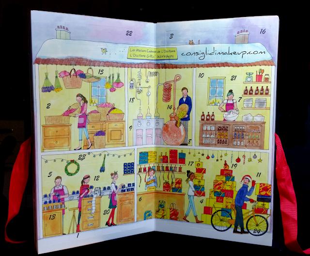 calendario avvento 2016 l'occitane opinioni