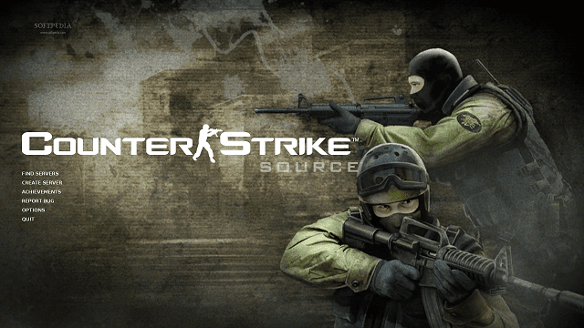 Counter Strike adalah game bergenre FPS paling populer di Steam