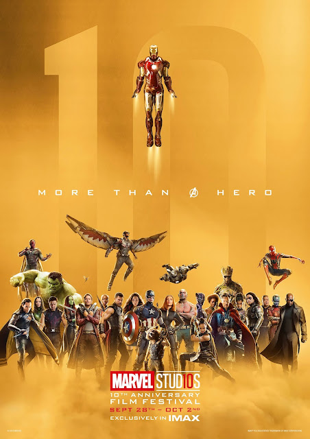 imax marvel 10th anniversary