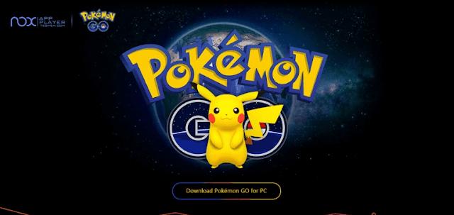 Cara Main Pokemon GO Dengan Laptop