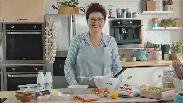 Gotowanie na ekranie czyli rolada szpinakowa