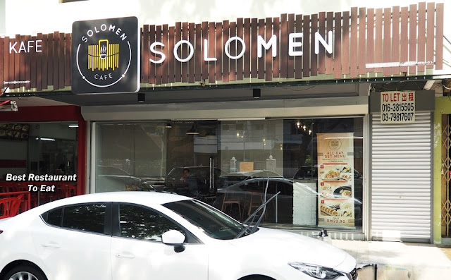 SS2 Food | SoloMen Cafe - Japanese Ramen Donburi Coffee Dessert Cafe