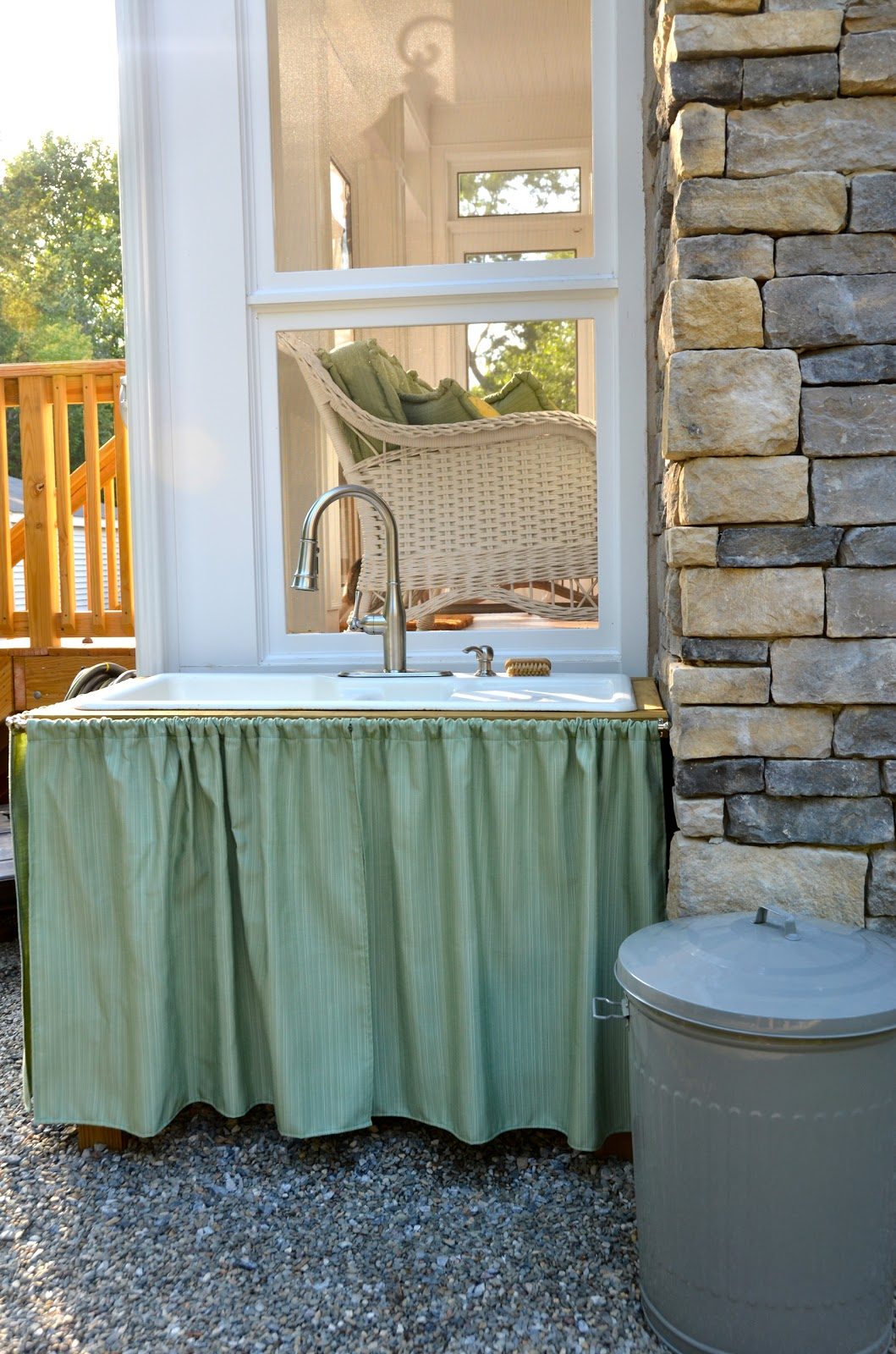 The Princess and The Frog Blog: An Outdoor Sink on Outdoor Patio Sink id=14089