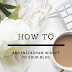 Light Widget   How to add Instagram Widget to Blogger