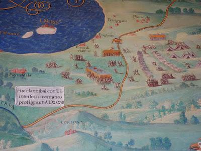 Lago de Trasimeno, derrota do exército romano contra Hanibal