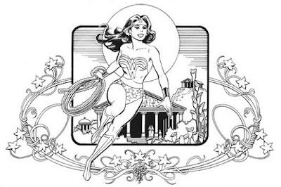Wonder Woman drawing by Jose Luis Garcia Lopez