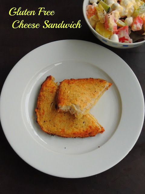 Gluten Free Cheese Sandwich
