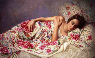 representativas-pinturas-con-mujeres-realismo mujeres-lienzos-realistas
