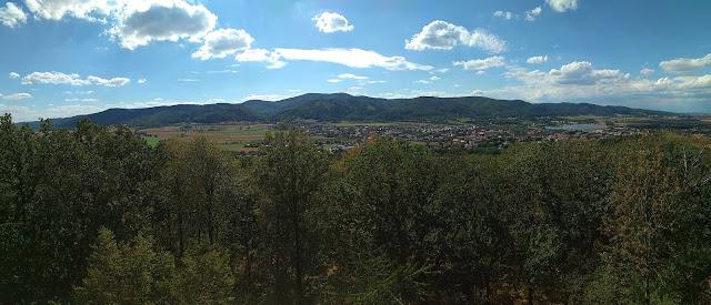 bielawa wieża widokowa obserwator, widok na góry sowie